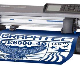 Máy cắt bế tem nhãn decal Graphtec CE6000-40 cho dịch vụ in nhanh